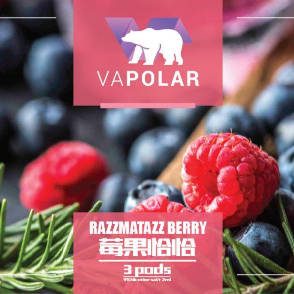Vapolar Razzmatazz Berry