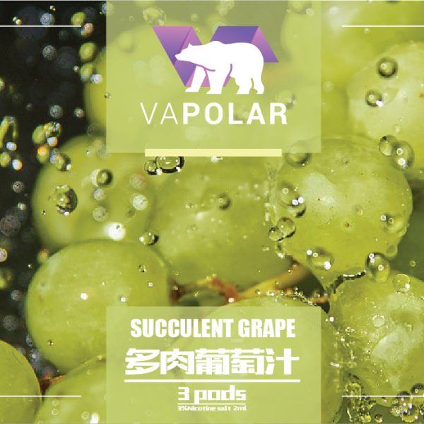Vapolar Succulent Grape